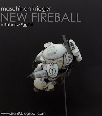 Maschinen Krieger New Fireball Rainbow Egg